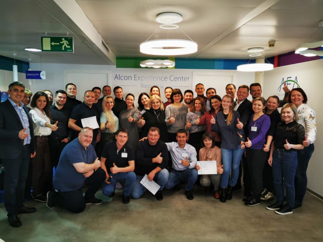 Специалисты нашей клиники прошли обучение в г. Барселона